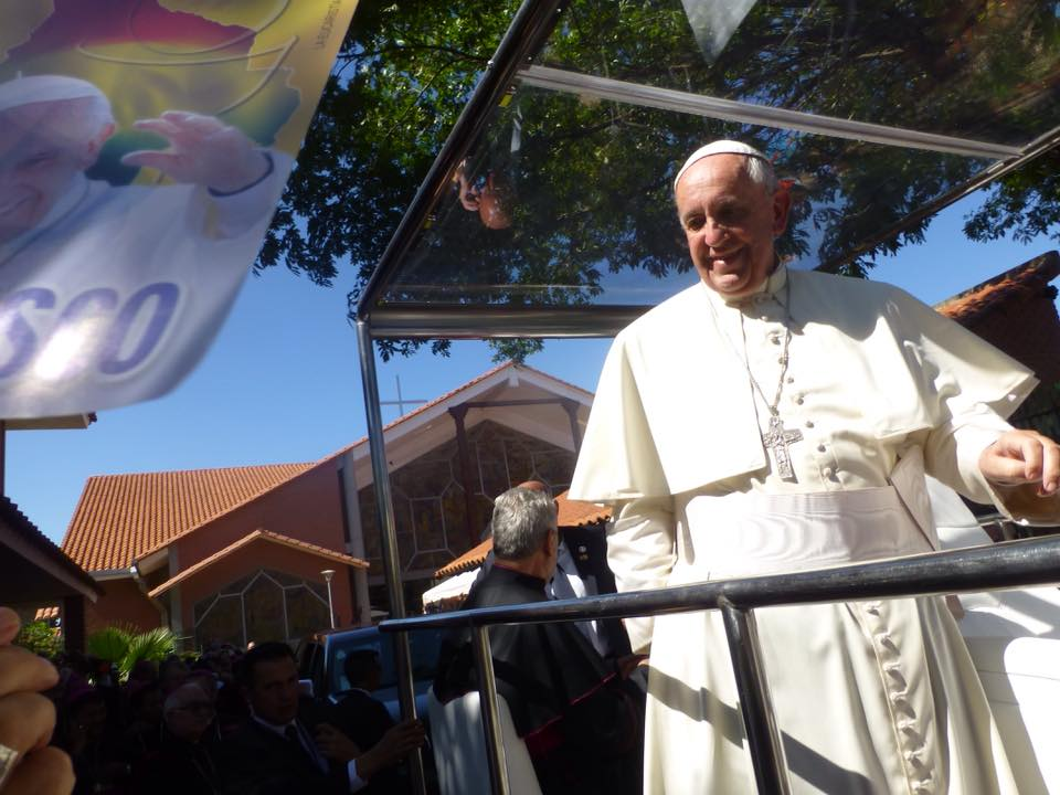Pope Francis' visit to Bolivia